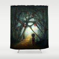 Through the Dream Shower Curtain
