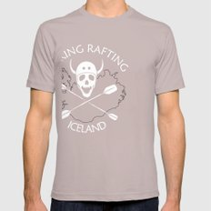 Viking Rafting Iceland Cinder SMALL Mens Fitted Tee
