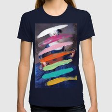 Composition 505 Womens Fitted Tee Navy SMALL