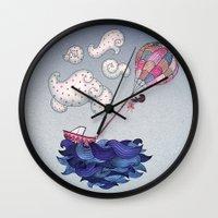 A Textured World Wall Clock