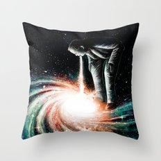 Cosmic Vomit Throw Pillow