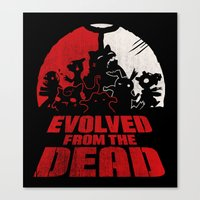 Evolved From The Dead Canvas Print