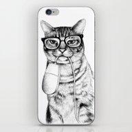 Mac Cat iPhone & iPod Skin