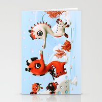 Sea Love Stationery Cards