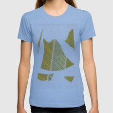 Collage space 24 Womens Fitted Tee Athletic Blue SMALL