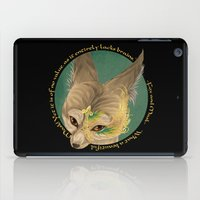 fox and mask  iPad Case
