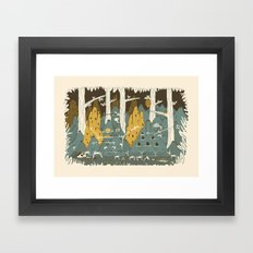 barrio Framed Art Print
