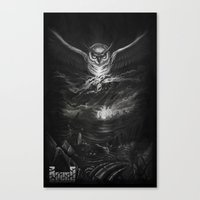BounD Owl/Moloch  Canvas Print