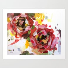 flower arrangement 4 Art Print