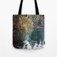 Heavenly Pond In Frankli… Tote Bag