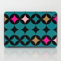 Geometric Blue iPad Case