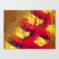 Leftovers, You Colourful… Canvas Print