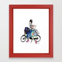 Moda Italia Framed Art Print