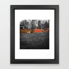 Color in the City Framed Art Print