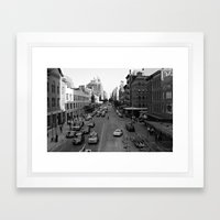 NYC Meat Packing Dsrt. Framed Art Print