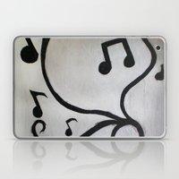 Music Notes Laptop & iPad Skin