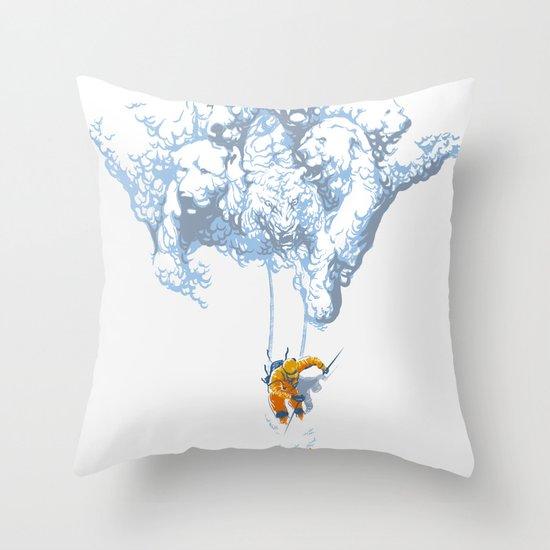 Avalanche Throw Pillow