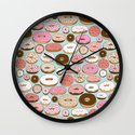 Donut Wonderland Wall Clock