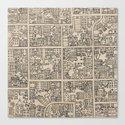 Overhead City Canvas Print