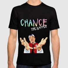 Chance The Rapper SMALL Black Mens Fitted Tee