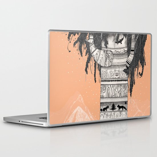 Fox Tree Laptop & iPad Skin