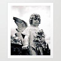 Child angel Art Print