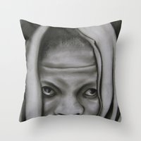 Victim Or Warrior? Throw Pillow