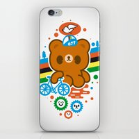 CycleBear - champignon du monde iPhone & iPod Skin