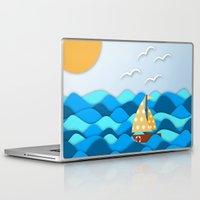 adventure Laptop & iPad Skins featuring Adventure by General Design Studio