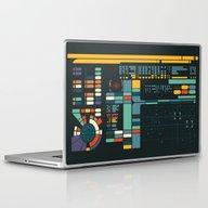 Control Interface Laptop & iPad Skin