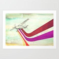 80's Airplane - CESSNA 2 Art Print