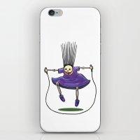 Jumprope Girl iPhone & iPod Skin