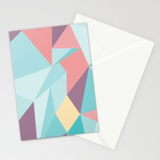 Facet vector II Stationery Cards