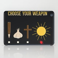 Choose Your Weapon iPad Case