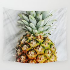 Ananas and Marble Wall Tapestry
