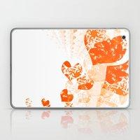 Heart - Orange Laptop & iPad Skin