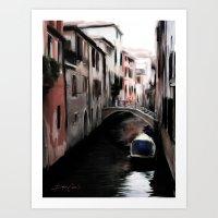Canal #2 Art Print