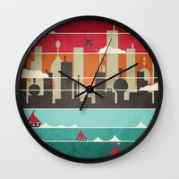 City Life Wall Clock