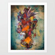 Orygin Art Print