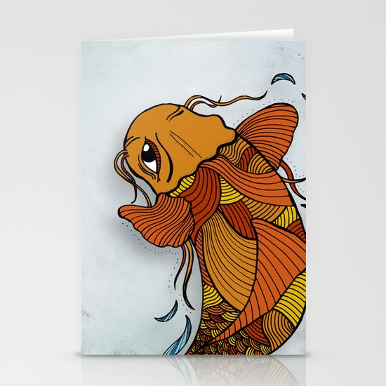 Fish Stationery Card