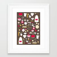 Teatime Treat Framed Art Print