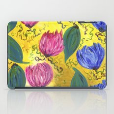 Country Flowers iPad Case