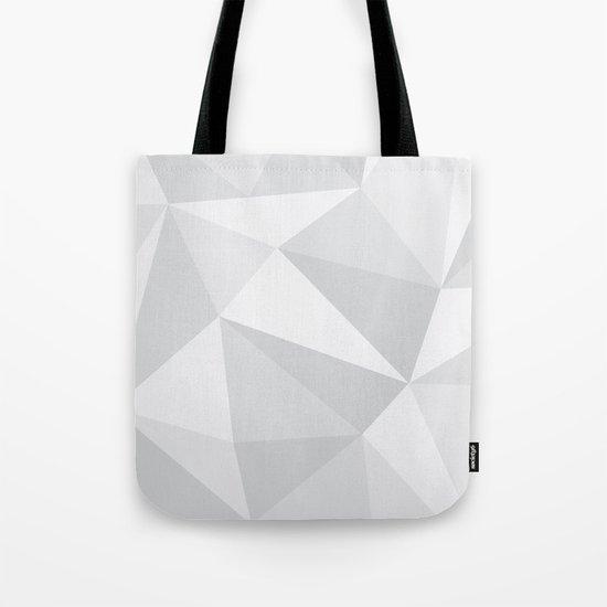 White Deconstruction Tote Bag