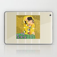 The Kiss (Lovers) by Gustav Klimt  Laptop & iPad Skin