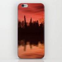 Passing By The Lake iPhone & iPod Skin