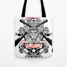 Stop Your Lion Tote Bag