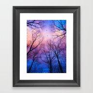 A New Day Will Dawn  (Da… Framed Art Print