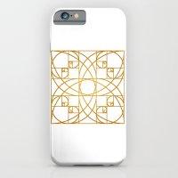 Golden Flower iPhone 6 Slim Case