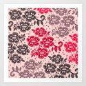 Floral Pattern #15 Art Print