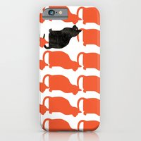dog iPhone & iPod Cases featuring CATTERN SERIES 2 by Catspaws